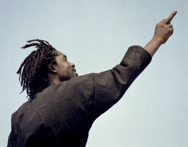 Peter Tosh Photo by Lee Jaffe