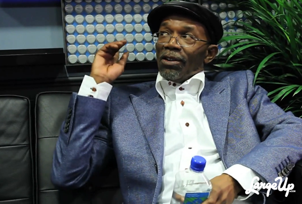 Beres Hammond backstage at Late Night with Jimmy Fallon