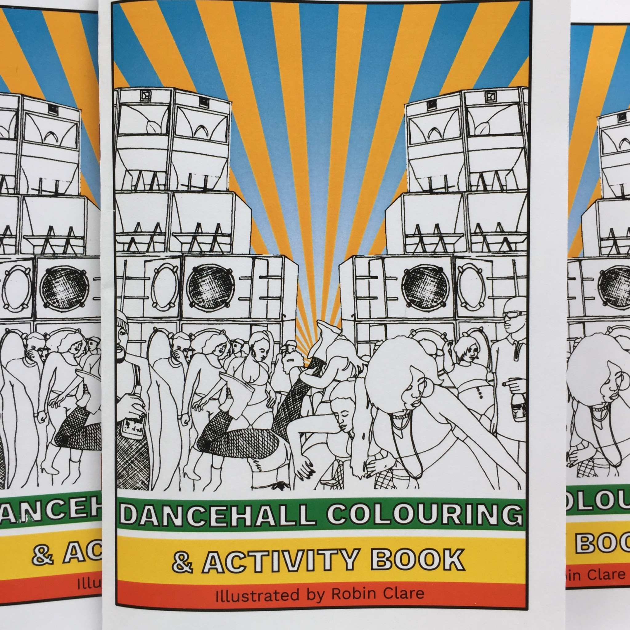 Dancehall Colouring Activity Book